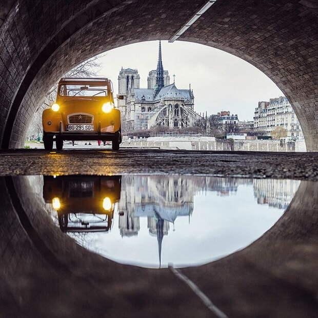 Красочные пейзажи европейских городов