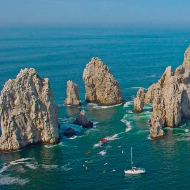 Эль Арко де КабоСанЛукас Мексика. Создано самой природой. Невероятные природные арки. Фото с сайта NewPix.ru
