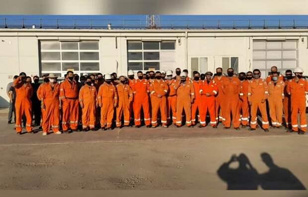 Работники нефтегазового месторождения обратились к Токаеву в Мангистау