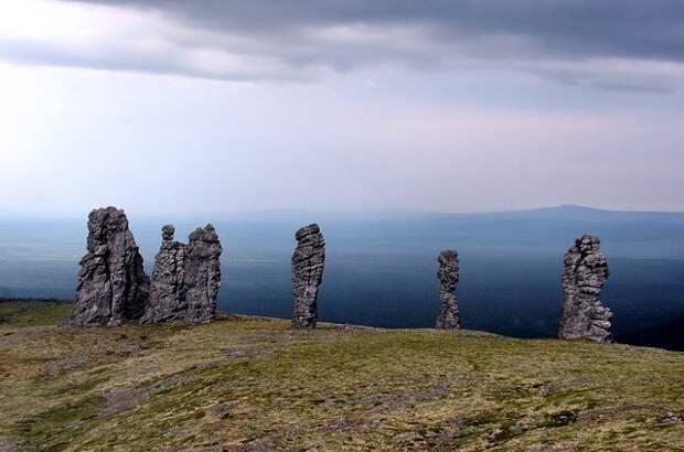 Столбы выветривания(Коми) Чудеса России, природа, сооружения