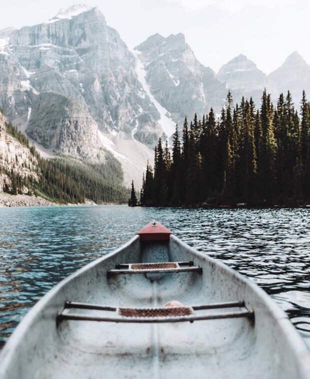 Умиротворенные пейзажи в тревел-фотографиях