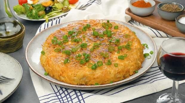 Картофельный рости с куриной начинкой: простой и вкусный ужин