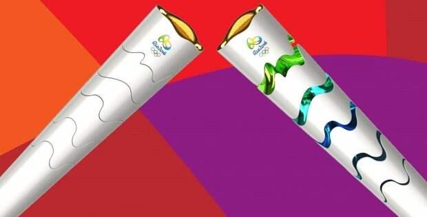 Факел бразильской олимпиады при передаче будет меняться в размерах