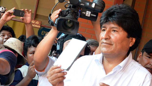 Эво Моралес попросил у индейских богов мудрости для управления Боливией