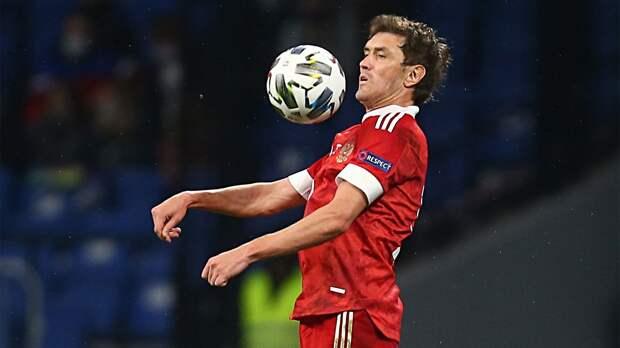 Жирков вышел на 4-е место по числу матчей за сборную России
