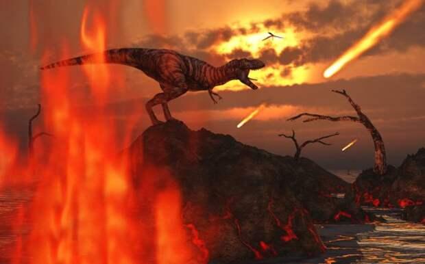 Астероид, убивший динозавров, на два года оставил Землю без солнечного света
