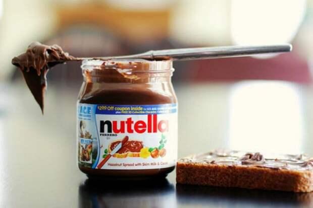 6. Nutella еда, продукты, фигура