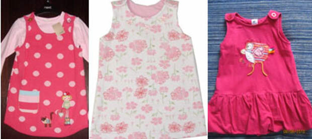 Сшить детское платье