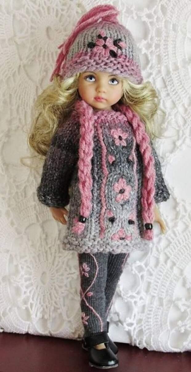 Кукольная мода, которую создали рукодельницы.