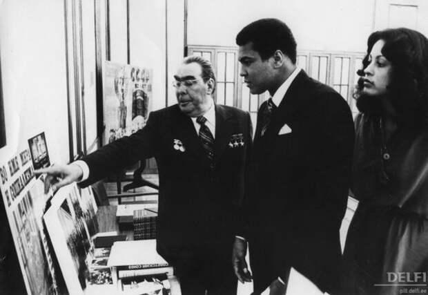 Визит Мохаммеда Али в СССР
