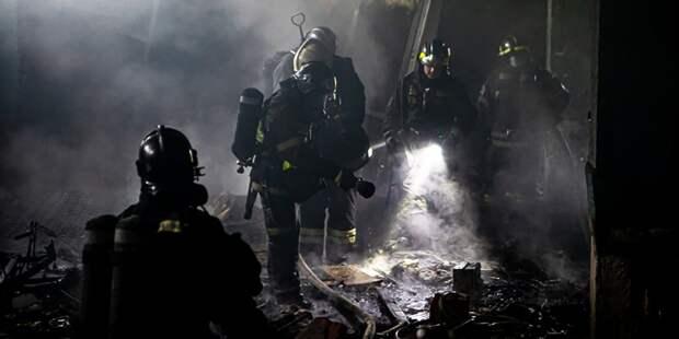 Пожарные столицы отметили свой профессиональный праздник