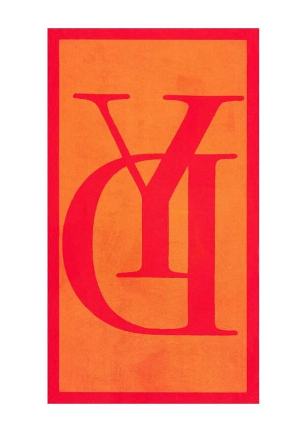 Пляжное полотенце Griffe Orange - Yves Delorme