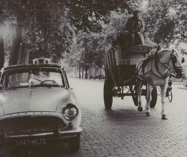 Винтажные фотографии цветущего Парижа в 60-х годах