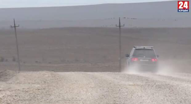 Жители посёлка Курортное попадают в ДТП из-за недостроенной дороги