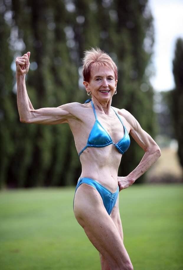 Думаете, это обычная спортсменка? Но вы удивитесь, узнав сколько ей лет!