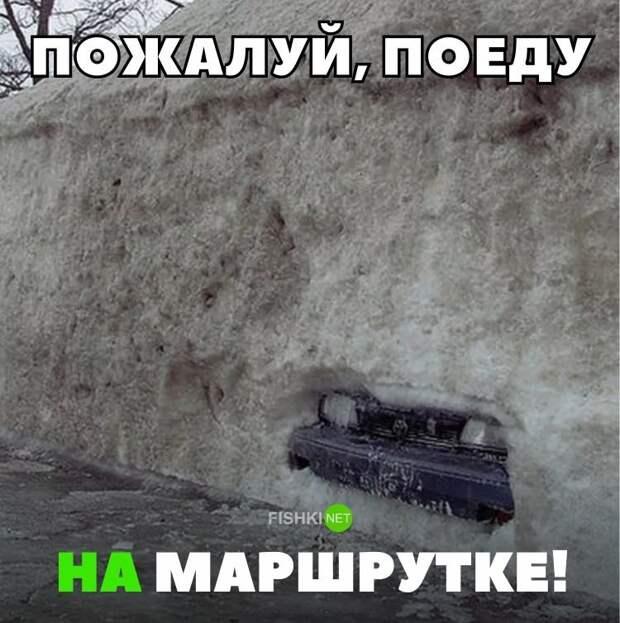 Пожалуй, поеду на маршрутке! авто, автомобили, автоприкол, автоприколы, подборка, прикол, приколы, юмор