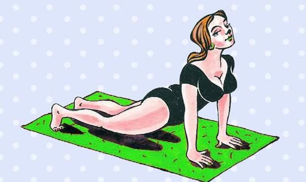 6 простых упражнений, которые помогут избавиться от боли в спине