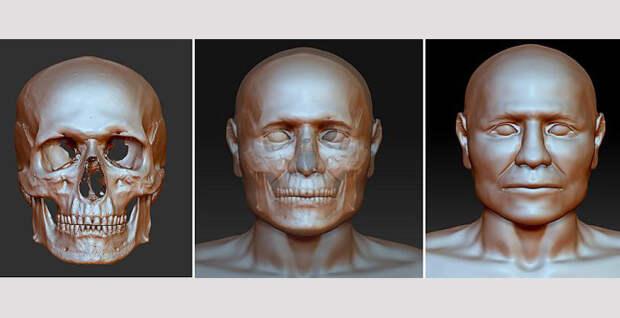 Польские судмедэксперты реконструировали лицо доисторического воина