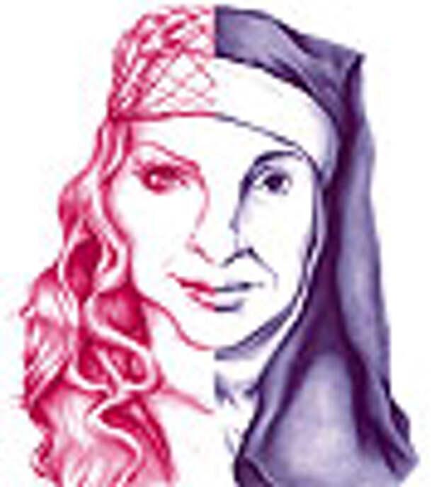 Из Мадонны сделали монашку