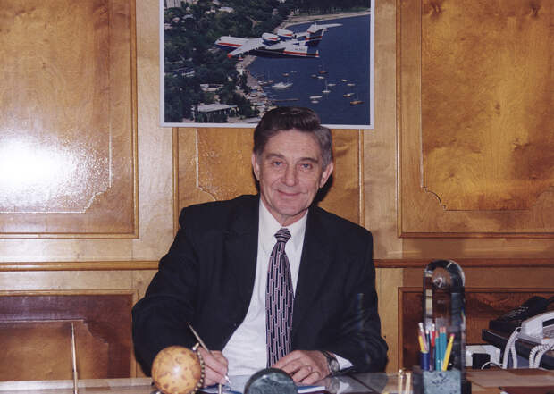 Генеральный конструктор Бе-200 Геннадий Панатов ТАНТК им. Бериева
