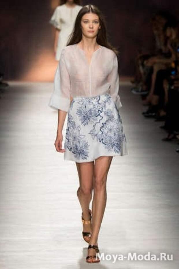 Модные юбки весна-лето 2015 Blumarine
