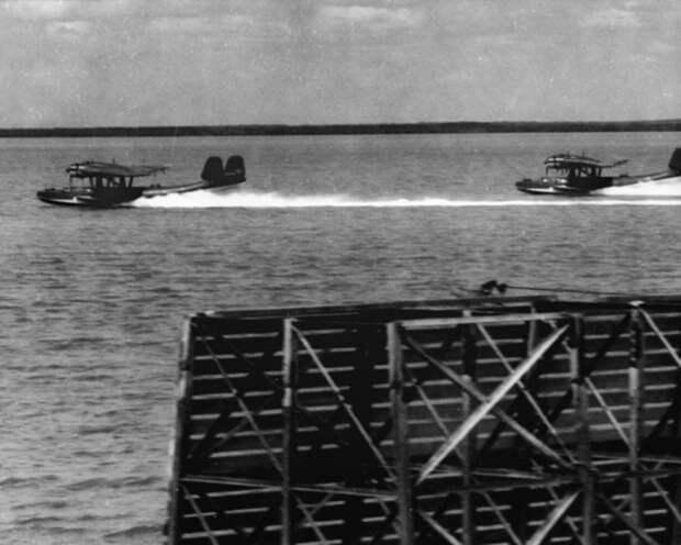 Голландские летающие лодки Do-24 в Бруме, 1941 год. awm.gov.au - «Неистовые орлы» в стране кенгуру | Warspot.ru