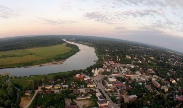 Город Таруса Калужской области