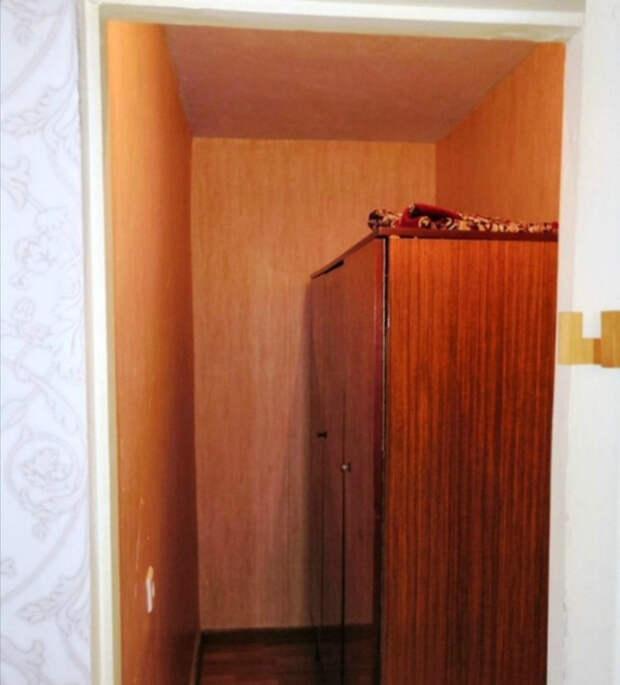 Старый шкаф в отдельной комнате. | Фото: Nakonu.com.