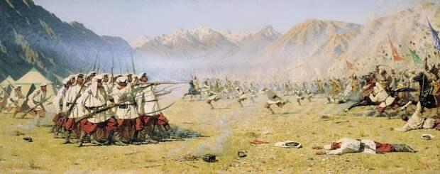 Бой есаула Серова: сотня против тысячей