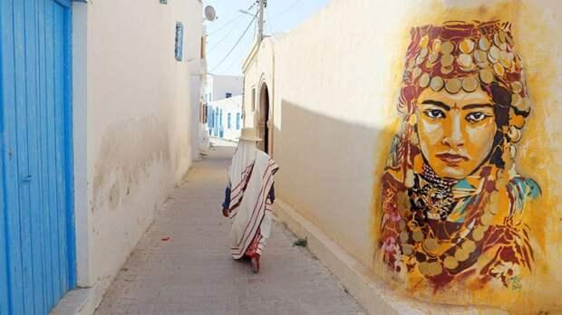 150 уличных художников из 30 стран, превратили старую деревушку Эр-Рияд в Тунисе в настоящую галерею под открытым небом (4)