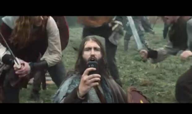 Если бы у викингов были смартфоны. Видео