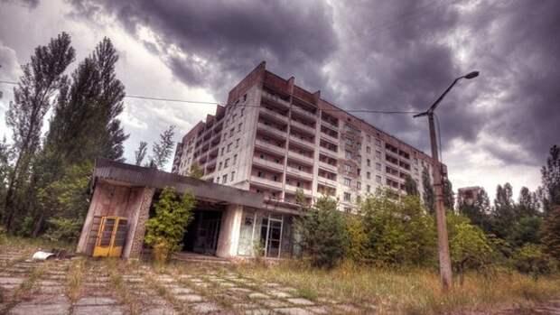 """""""Мёртвый город"""", Припять, Украина."""