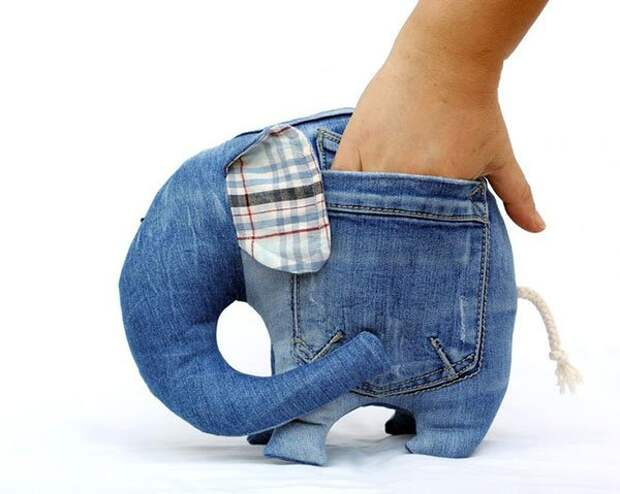 Вот 31 вещь, которую можно сделать со своими старыми джинсами. Не выбрасывайте!