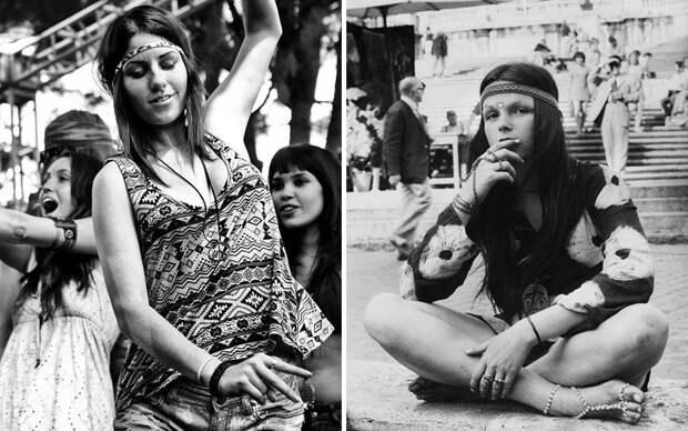 Роковые девушки фестиваля «Вудсток» 1969 года