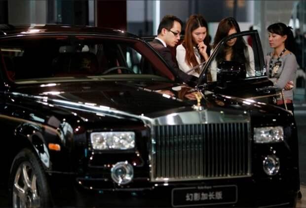Премьера Rolls-Royce Phantom в Китае