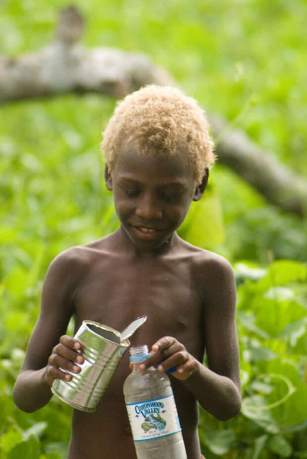 Темнокожие блондины Меланезии – непонятная загадка, над которой бьются генетики