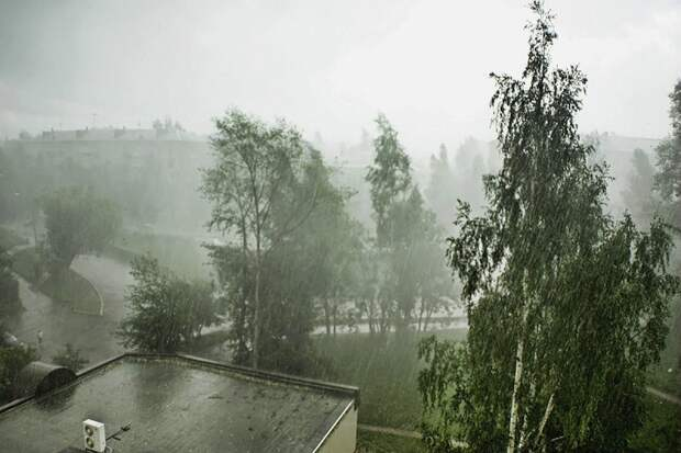 Погода в Крыму — грозовые дожди