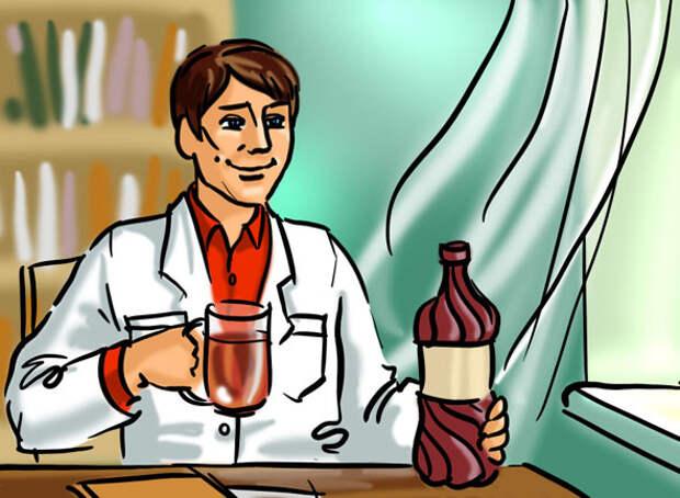 Квас «Благодей», идея «Доктор»