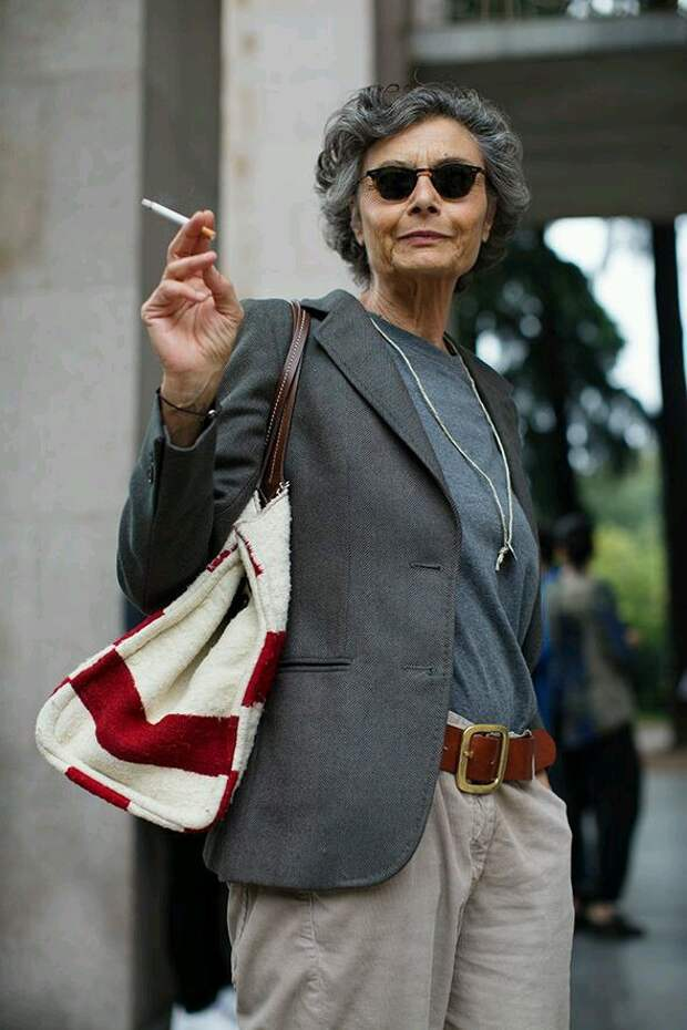 Рената Молхо, или как и в зрелом возрасте сохранять чувство стиля