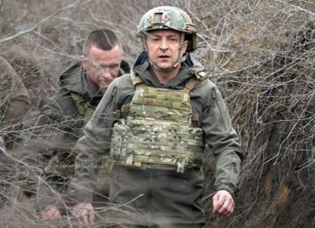 «Зеленский перепуган: ему дали установку на начало войны на Донбассе»
