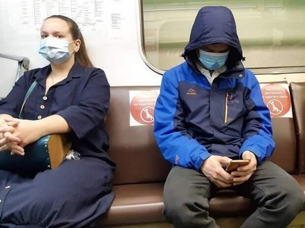 В московском транспорте ужесточили контроль за ношением масок