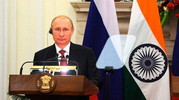 Путин совершит официальный визит в Индию