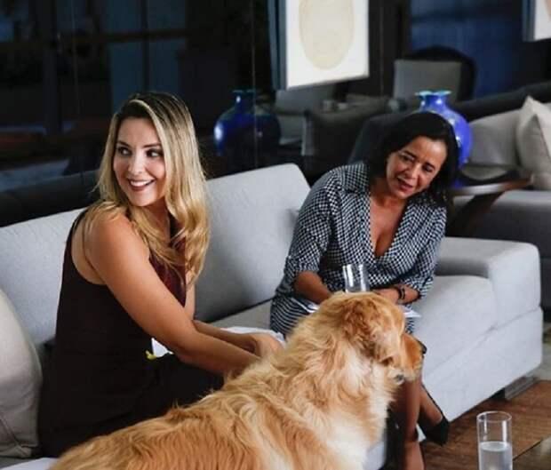 Первая леди Бразилии и бывшая фотомодель спасла собаку, тонувшую в озере ynews, бразилия, животные, интересное, первая леди, спасение, фото