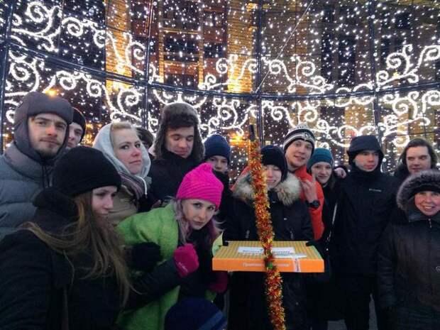 протест навальный манежная