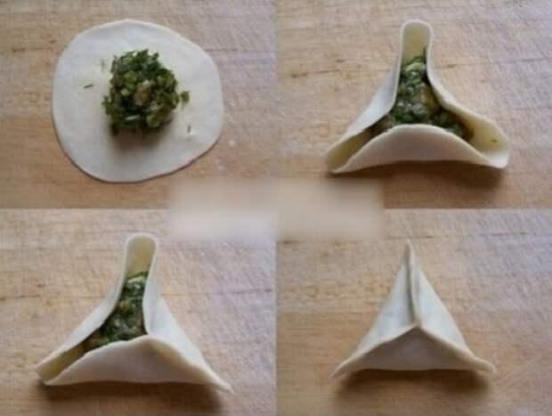Способы необычной лепки пельменей