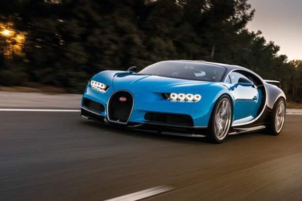 Bugatti установит новый рекорд скорости