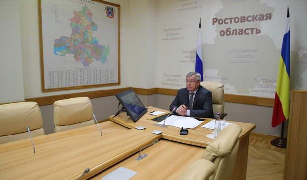Губернатор Голубев заявил округлосуточной работе попроблемам срынками вАксае