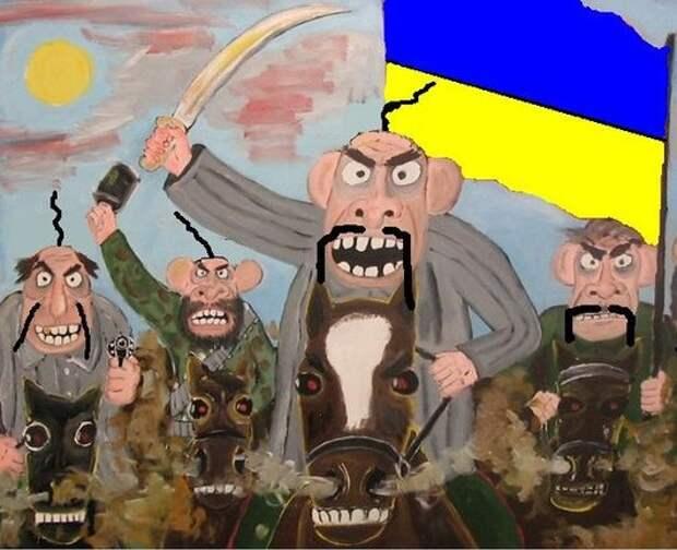 День, когда всплыла нацистская Украина