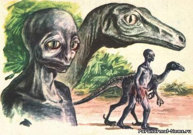 Откуда и когда на Земле появились рептилоиды?