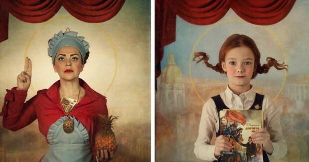 Святые из «совка» от казахской фотохудожницы Светланы Мелик-Нубаровой